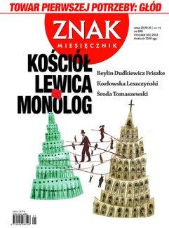Miesięcznik Znak. Styczeń 2012