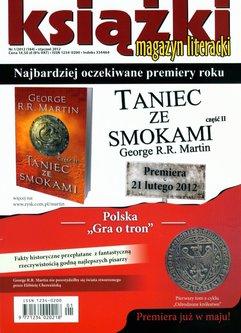 Magazyn Literacki KSIĄŻKI - nr 1/2012 (184)