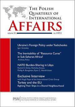 The Polish Quarterly of International Affairs 4/2013