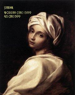 Rodzina Cenci 1599. Les Cenci 1599