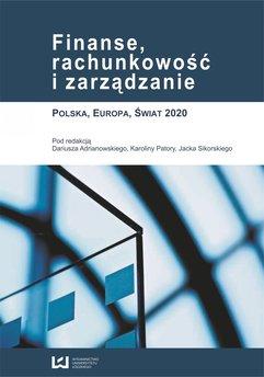 Finanse, rachunkowość i zarządzanie. Polska, Europa, Świat 2020