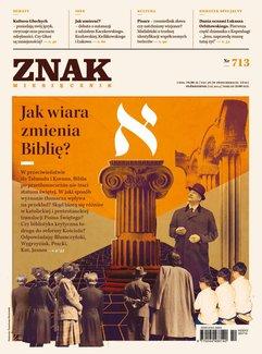 Miesięcznik Znak. Październik 2014