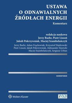 Ustawa o odnawialnych źródłach energii. Komentarz
