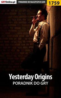 Yesterday Origins - poradnik do gry