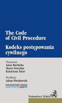 Kodeks postępowania cywilnego. The Code of Civil Procedure