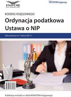 Ordynacja podatkowa. Ustawa o NIP