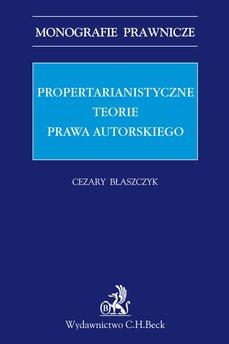Propertarianistyczne teorie prawa autorskiego