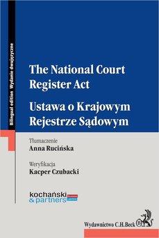 The National Court Register Act. Ustawa o Krajowym Rejestrze Sądowym