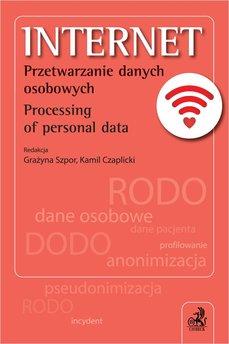 Internet. Przetwarzanie danych osobowych. Processing of personal data