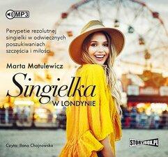 Singielka w Londynie audiobook