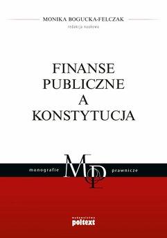 Finanse publiczne a Konstytucja