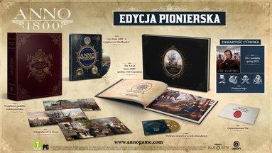 Anno 1800 Edycja Kolekcjonerska (PC) PL + BONUS!