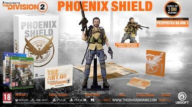 Tom Clancy's The Division 2 Edycja Kolekcjonerska Phoenix Shield Gold (PS4)