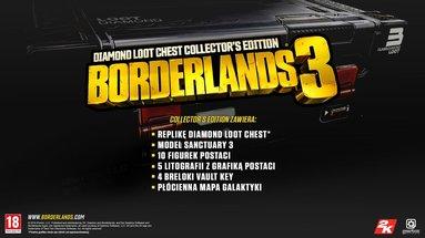 Borderlands 3 Diamond Loot Chest Edycja Kolekcjonerska