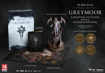 The Elder Scrolls Online: Greymoor Edycja Kolekcjonerska Upgrade (PS4)