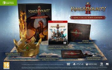 King's Bounty II Królewska Edycja Kolekcjonerska (Switch)