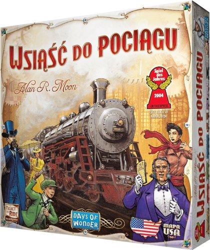 Wsiąść do Pociągu: USA (Gra Planszowa)