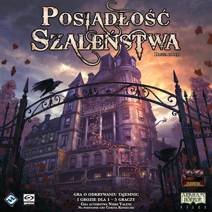 Posiadłość Szaleństwa (2 edycja) (Gra Planszowa)