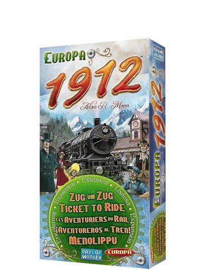 Wsiąść do Pociągu: Europa 1912 (Gra Planszowa)