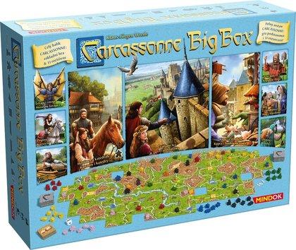 Carcassonne Big Box 6 (Gra planszowa)