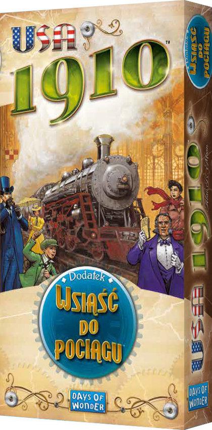 Wsiąść do Pociągu: USA 1910 (Gra Planszowa)