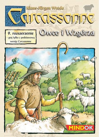 Carcassonne: Owce i Wzgórza (edycja polska) (Gra Planszowa)