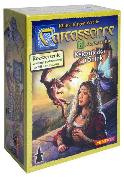 Carcassonne: Księżniczka i Smok (druga edycja polska) (Gra Plaszowa)