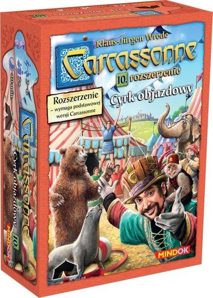 Carcassonne: Cyrk Objazdowy (druga edycja) (Gra Planszowa)