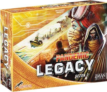 Pandemic Legacy (Pandemia) - Sezon 2 - Edycja żółta (Gra Planszowa)