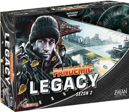 Pandemic Legacy (Pandemia) - Sezon 2 - Edycja czarna (Gra Planszowa)