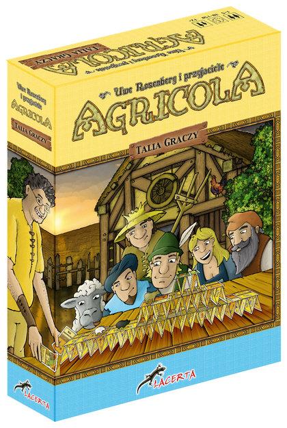 Agricola: Talia Graczy (Gra Planszowa)