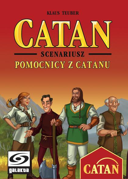Catan: Pomocnicy z Catanu (Gra Planszowa)