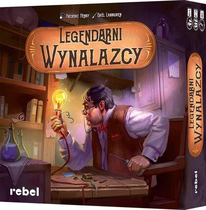 Legendarni Wynalazcy (Gra Planszowa)