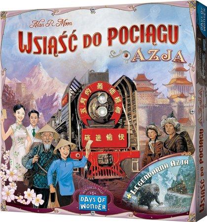 Wsiąść do Pociągu: Azja (Gra Planszowa)