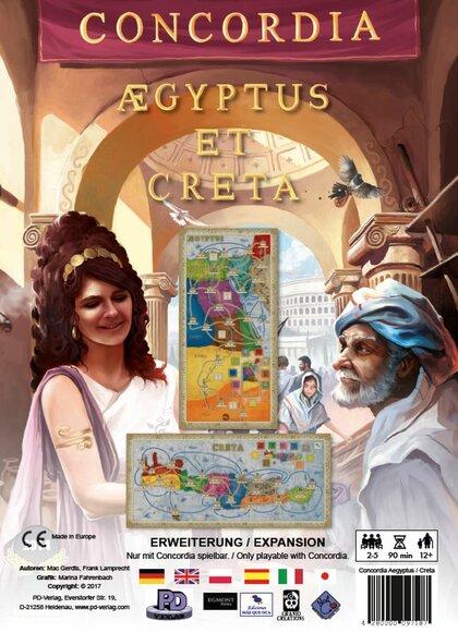 Concordia: Egipt / Kreta (Gra Planszowa)