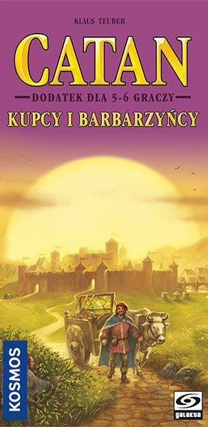 CATAN - Kupcy i Barbarzyńcy dodatek 5/6 graczy (GRA PLANSZOWA)