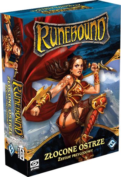Runebound 3 - Zestaw Przygodowy - Złocone Ostrze (Gra planszowa)