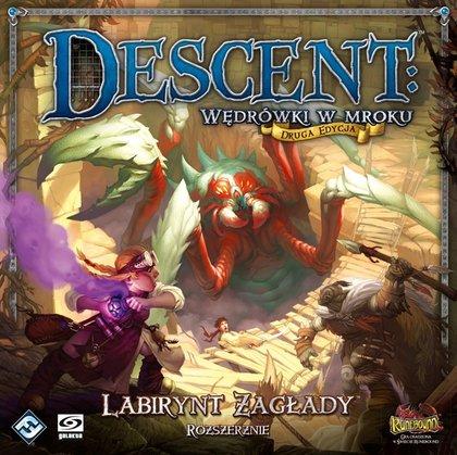Descent: Wędrówki w Mroku - Labirynt Zagłady (Gra planszowa)