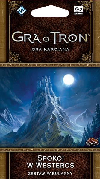 Gra o Tron: Gra karciana (2ed) - Spokój w Westeros (Gra karciana)