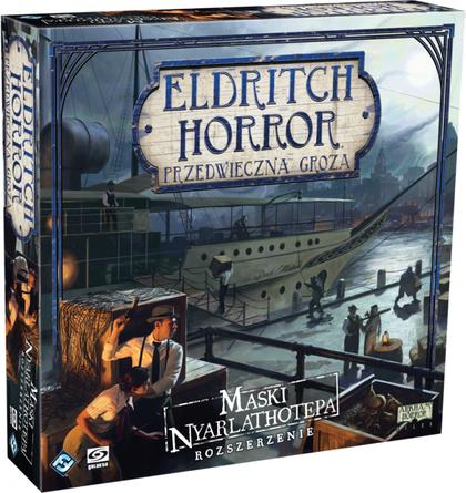Eldritch Horror: Przedwieczna groza - Maski Nyarlathotepa (Gra Planszowa)