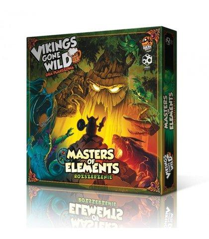 VIKINGS GONE WILD: MASTERS OF ELEMENTS (EDYCJA WSPIERAM.TO) (Gra Planszowa)
