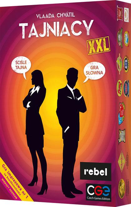 Tajniacy XXL (Gra Karciana)