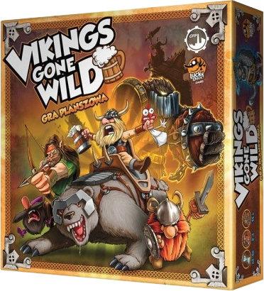 Vikings Gone Wild (edycja polska) (Gra Planszowa)