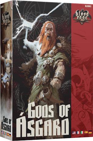 Blood Rage - Bogowie Asgardu (Gra Planszowa)