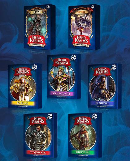 Hero Realms - Pakiet Bohaterowie + Bossowie (Gra Karciana) + Mata