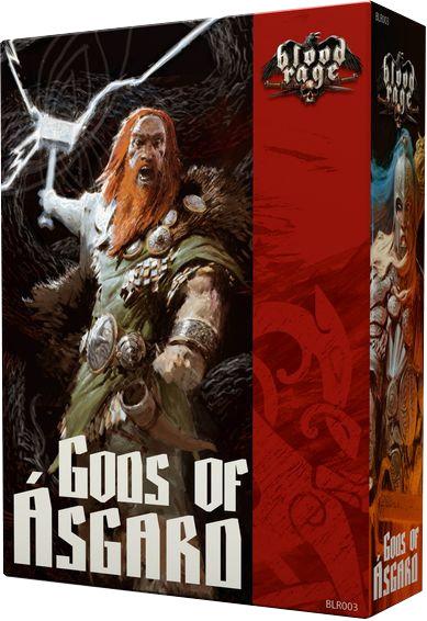 Blood Rage: Bogowie Asgardu (Gra Planszowa)