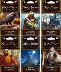 Gra o tron Cykl Westeros 6 dodatków