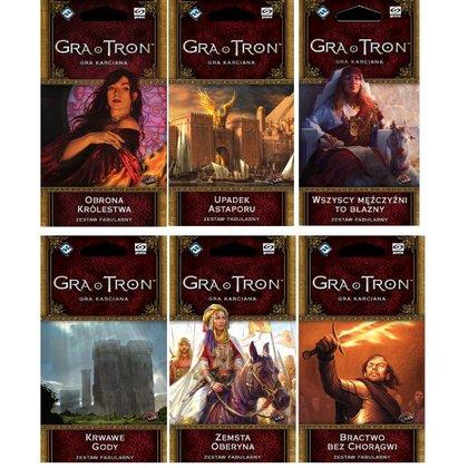 Gra o tron Cykl Krew i Złoto 6 dodatków