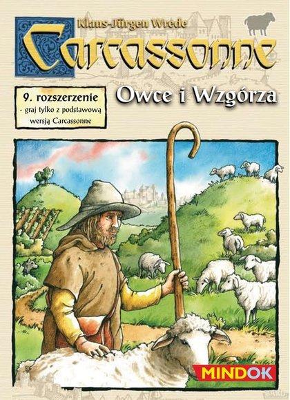 Carcassonne 9 Owce i wzgórza