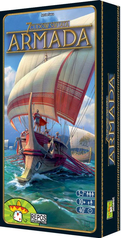 7 Cudów Świata: Armada (Gra Planszowa)